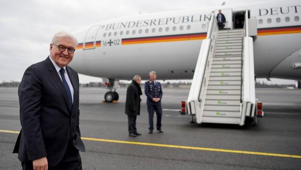 Bundespräsident sitzt fest: Defekter Flieger verzögert Steinmeiers Rückflug aus Äthiopien