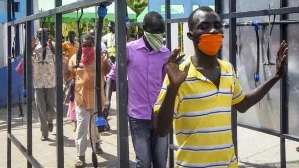 WHO besorgt über Anstieg der Corona-Fälle in Afrika
