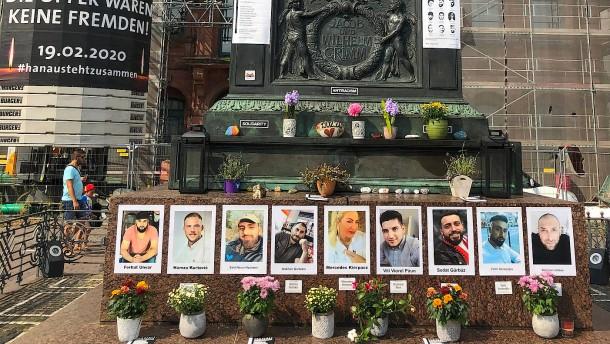 Gedenken der Opfer in Hanau