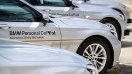 BMW fährt in Schanghai autonom