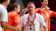 Alfred Gislason, Trainer der Deutschen Handball-Nationalmannschaft