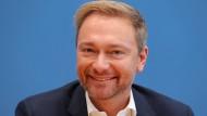 Der Bundesvorsitzende der FDP Christian Lindner