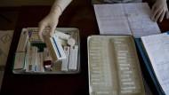 Gehütet wie ein Schatz: Das russische Gesundheitsministerium hat die Ausgabe von Schmerzmitteln stark reglementiert.