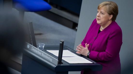 """Merkel sind die Lockerungen der Länder """"zu forsch"""""""