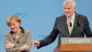 Lob von der Kanzlerin für Seehofers CSU  und die Bayern
