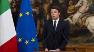 Matteo Renzi gibt sich siegessicher. Er glaube nicht daran, dass das italienische Volk auf Populisten hereinfiele.