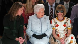 Mode unter königlicher Beobachtung
