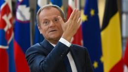 EU-Ratspräsident Tusk beruft ein