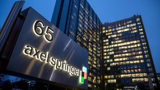 Amerikanischer Investor vor Einstieg bei Springer