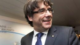 Belgische Justiz setzt Katalanenchef auf freien Fuß