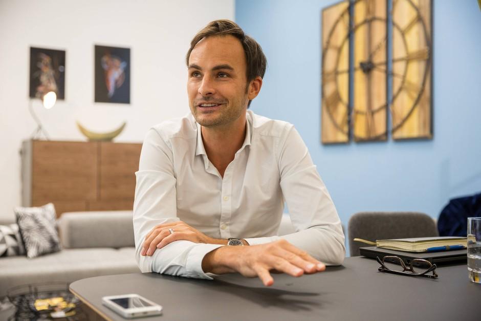 Geschäftsführer Marc Appelhoff möchte aus Home 24 ein Milliardenunternehmen machen.