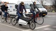 Fahrräder lösen Autos ab