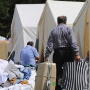 Im Dezember sollen keine Flüchtlinge mehr in Zelten wohnen müssen.