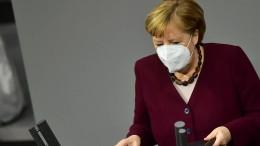 Merkel verteidigt verschärfte Corona-Auflagen