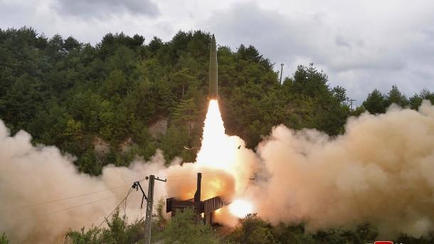 Nordkorea führt weiteren Raketentest durch