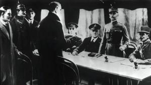 Das Ende des Großen Krieges