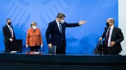 Deutschlandtrend: Nur noch 47 Prozent mit Einschränkungen einverstanden