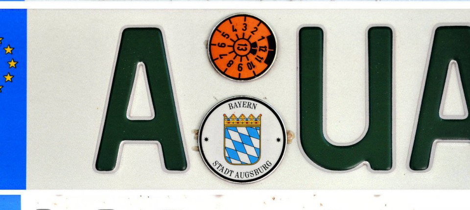 Autokennzeichen Cas Wit Kru Und Wat Ein Großer