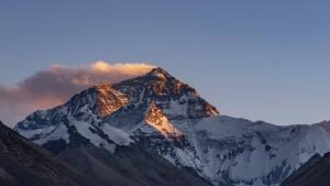 Mount Everest wird neu vermessen