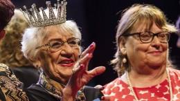 """93-Jährige zur """"Miss Holocaust Survivor"""" gekrönt"""