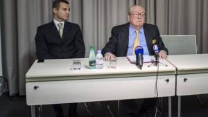 Gründer des Front National wegen Gaskammer-Äußerung verurteilt