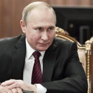 Wladimir Putin am Dienstag in Moskau