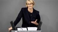 Anja Karliczek im September im Bundestag