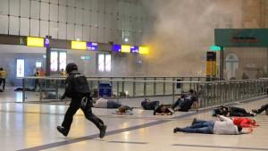 Spektakuläre Anti-Terror-Übung in Leipzig