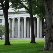 Campus der Eliteuniversität Harvard in Cambridge, Massachusetts