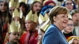 Merkel unterstreicht die Bedeutung von Kinderrechten