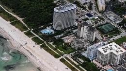 """""""Wie ein Bombenschlag"""": Noch 99 Vermisste nach Hauseinsturz in Florida"""