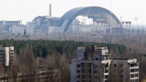 Brand in Sperrzone rund um Tschernobyl
