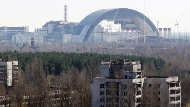 Havariertes Atomkraftwerk: Brand in Sperrzone rund um Tschernobyl