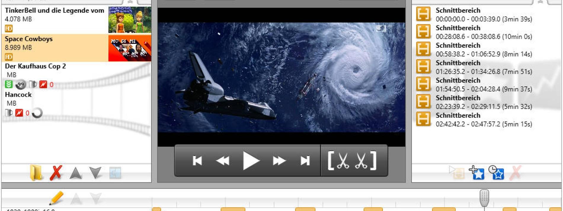Schnitt-Software DVR-Studio HD im Test