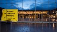 Vorerst weiter eine Baustelle: Der Terminal des Flughafens Berlin-Brandenburg