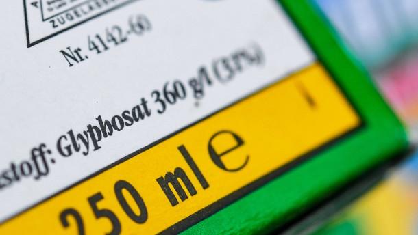Streit um Glyphosatgutachten geht vor Gericht