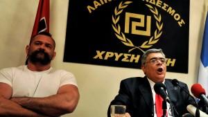 Nikolaos Michaloliakos festgenommen