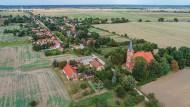 Das Oderbruchdorf Neuküstrinchen in Brandenburg