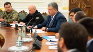 Ukraine versetzt Armee in Kampfbereitschaft