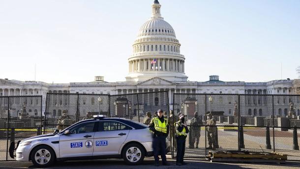 Hinweise auf möglichen zweiten Angriff auf amerikanischen Kongress