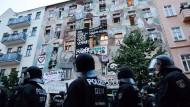 Räumung von besetztem Haus war rechtswidrig