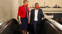 Berliner SPD wählt Giffey mit Saleh an die Spitze