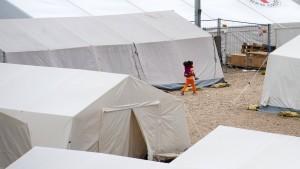 """Situation im Dresdner Flüchtlingscamp ähnelt Kriegsverhältnissen"""