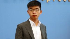 Wong fordert Exportstopp für Polizeiausrüstung