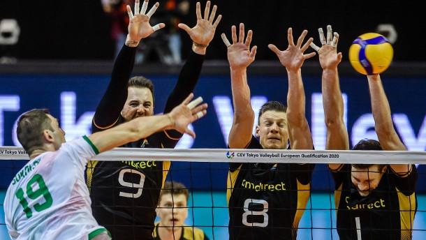 Deutschland fehlt nur ein Sieg zur Olympia-Qualifikation