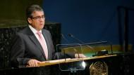 Sigmar Gabriel appelliert vor UN für mehr Zusammenarbeit