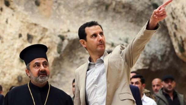 Washington verdächtigt Assad nach neuem Giftgas-Angriff