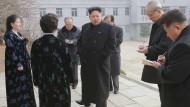 Neue Bilder von Kim Jong-un