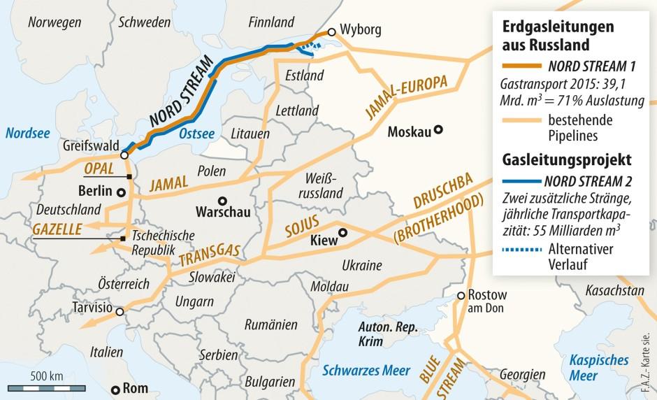 Wintershall Setzt Unbeirrt Auf Ostsee Pipeline Nord Stream 2