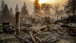Flucht aus dem kalifornischen Flammenmeer